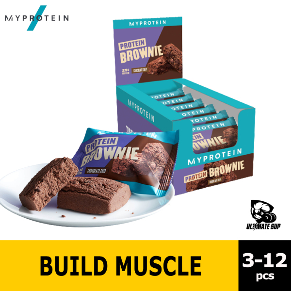 Buy Myprotein Protein Brownie, 23g Protein, Boost Recovery, Healthy Snack & Meal Replacement Singapore