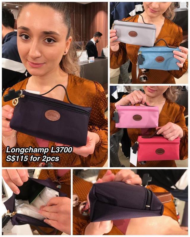 LONG CHAMP L3700 Clutch Bag