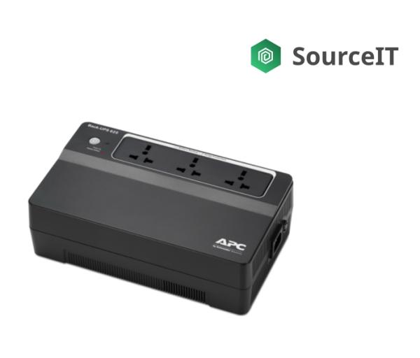 APC Back-UPS 625VA, 230V, AVR, Floor, Universal Sockets - 2 Years Local Warranty [Authorized Reseller]