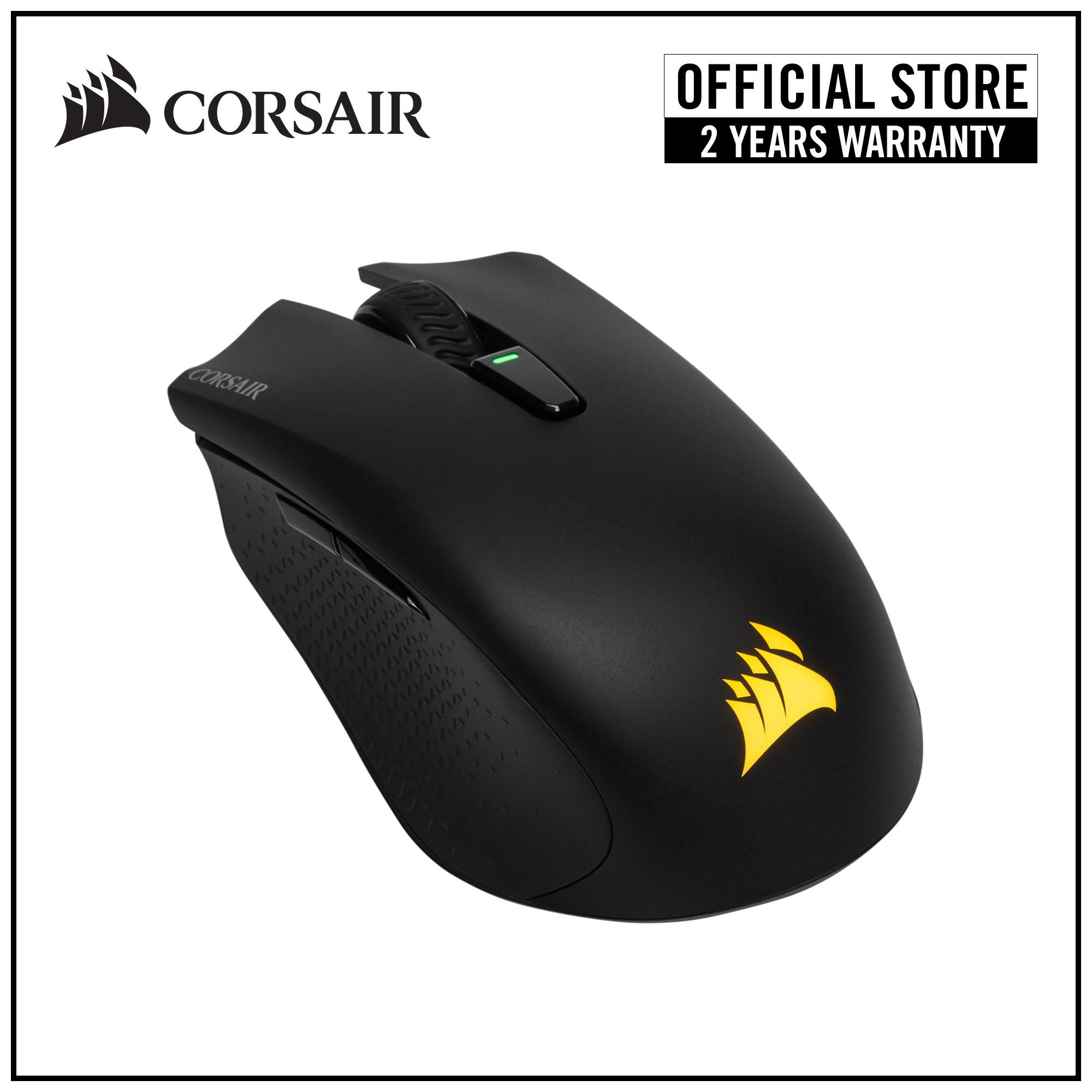 1877e17b61c Corsair HARPOON RGB Wireless Rechargeable Gaming Mouse with SLIPSTREAM  Technology Singapore