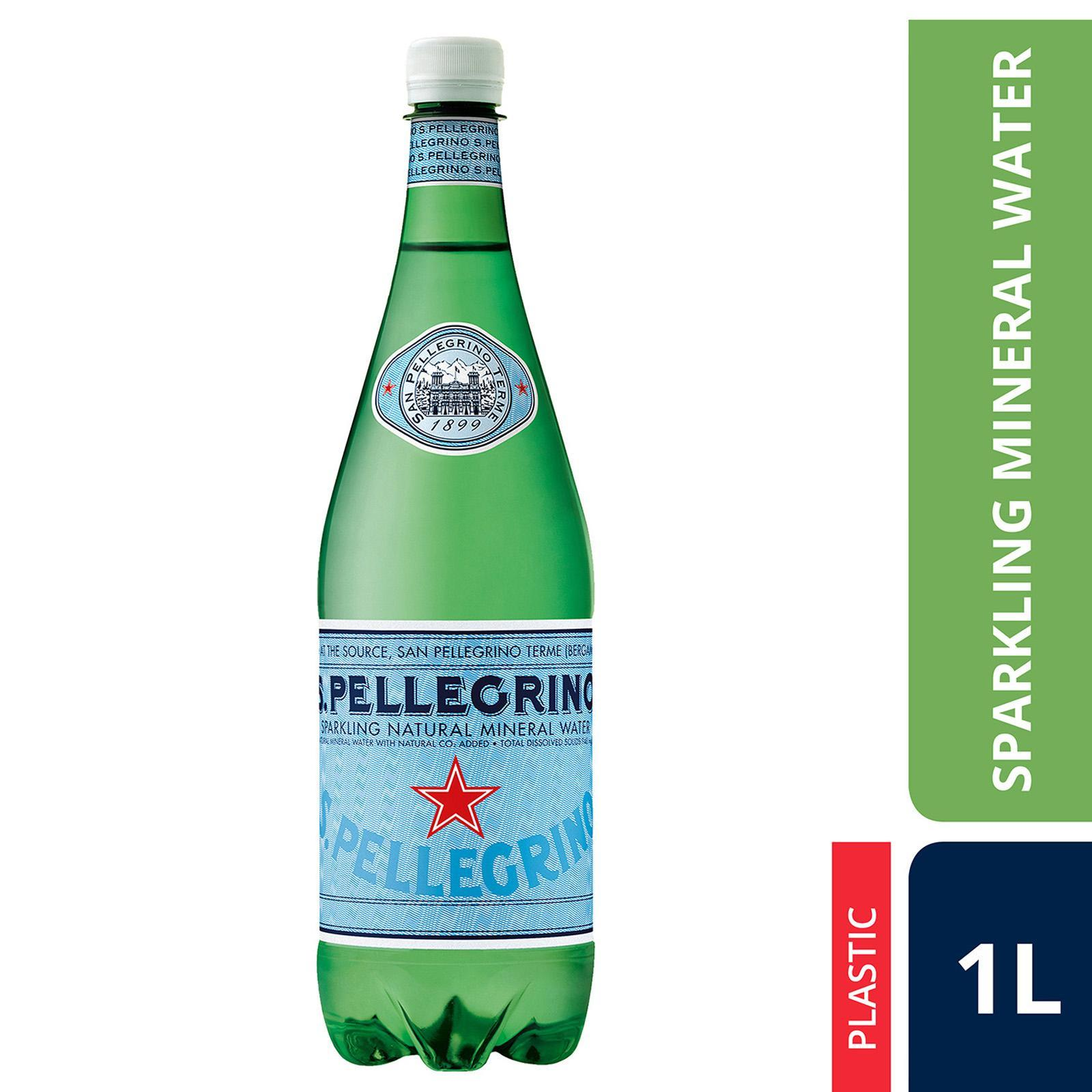 San Pellegrino Sparkling Natural Mineral Water By Redmart.