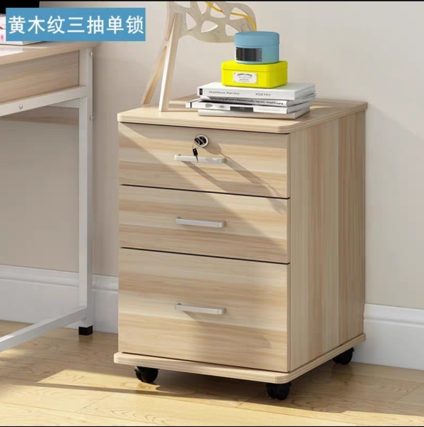 (Amura Living) Classy Side Cabinet With Lock