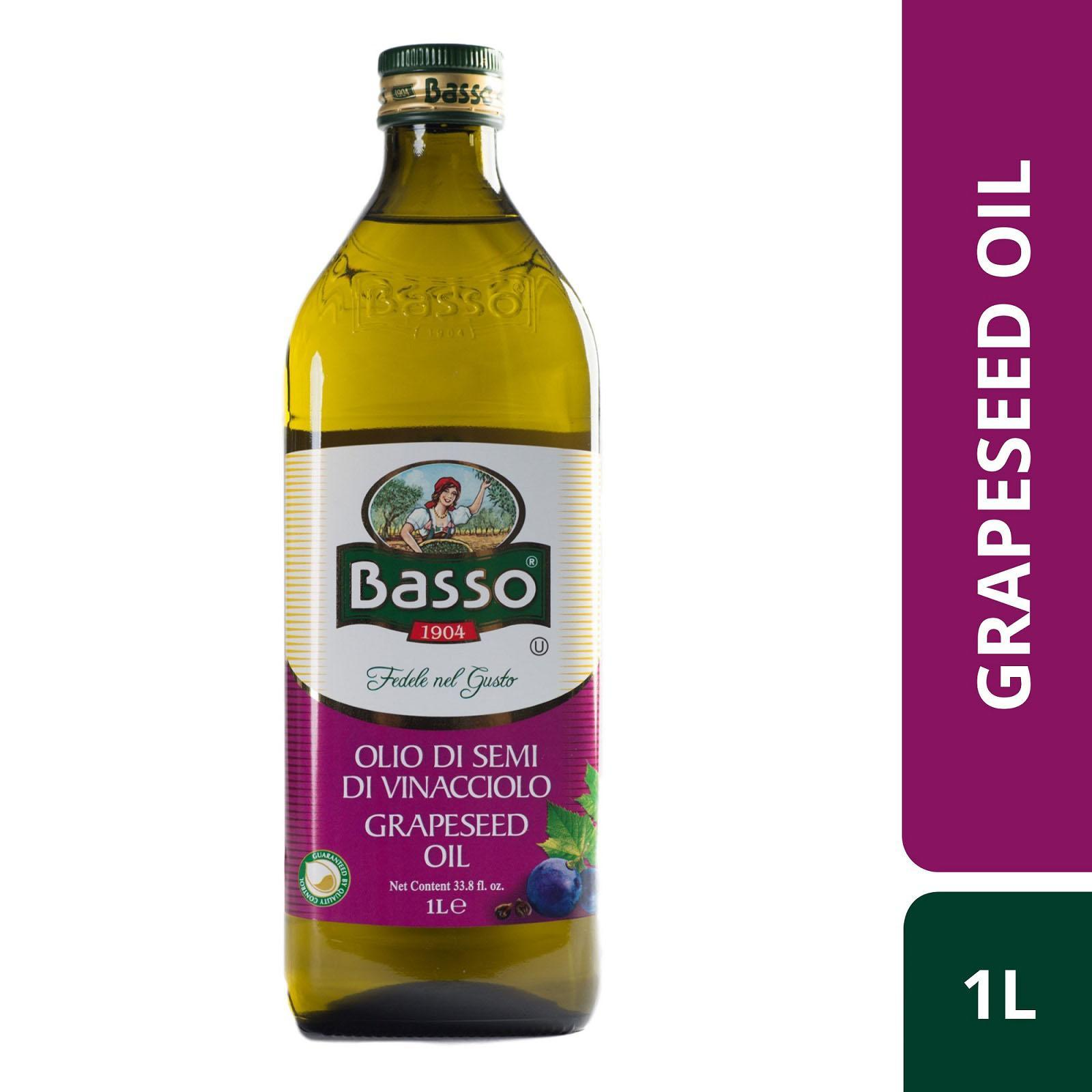 Basso Grapeseed Oil By Redmart.