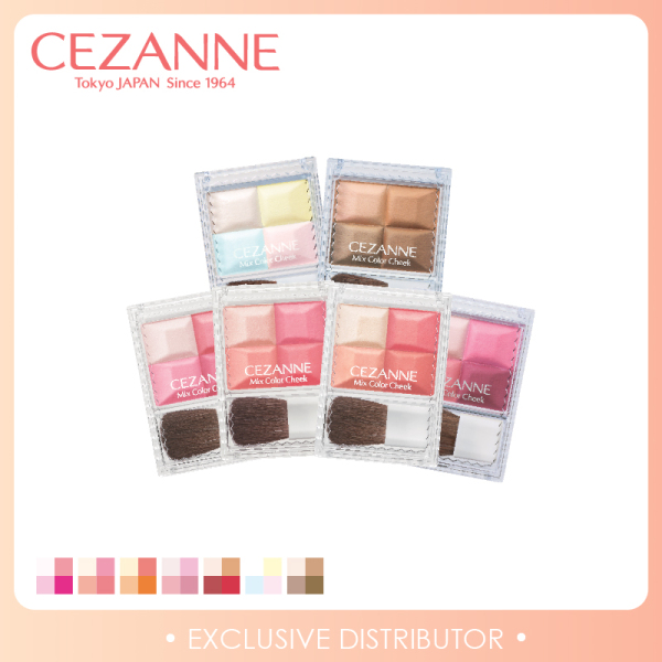 Buy [Cezanne] Mix Color Cheek Singapore