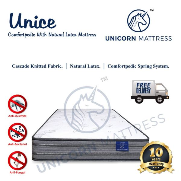 unicorn unice mattress with latex