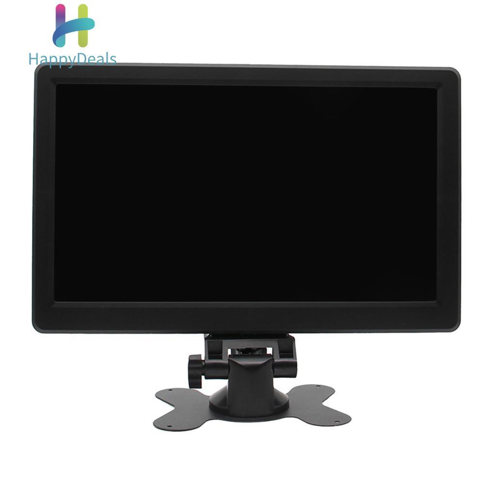 {9.9 Hot Sale Festival}10in 1920x1080P FHD Monitor 16:9 208PPI IPS Display w/Shell+Brakcet (US)(black)
