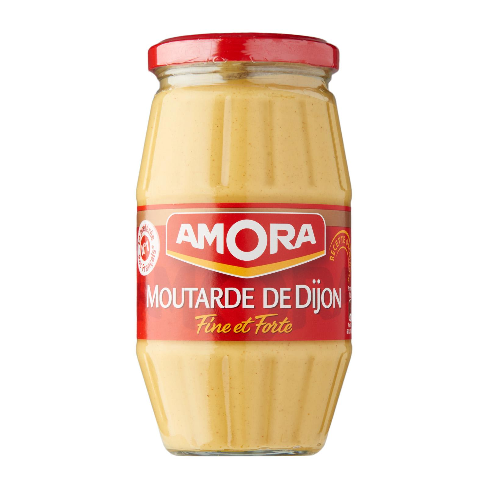 Amora Fine And Strong Dijon Mustard By Redmart.
