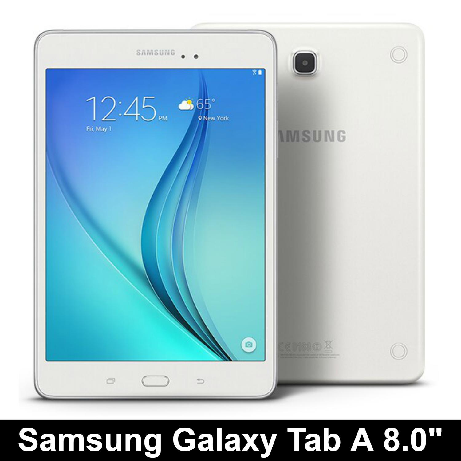 Samsung Galaxy Tab A / 8 0 inch / Wi-Fi only / 1 5GB RAM / 16GB ROM /  Android Tablet / Refurbished / Export set