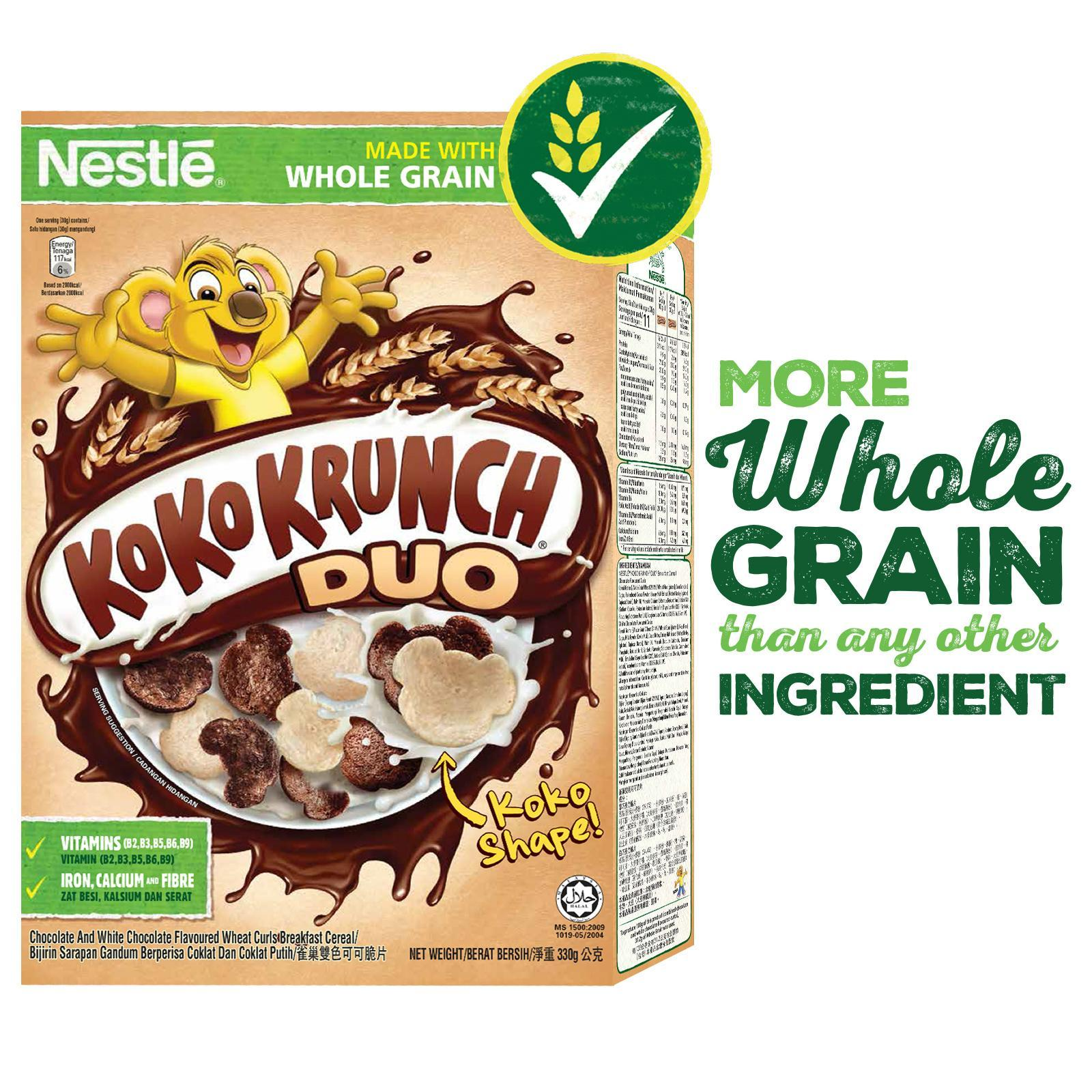 Nestle Koko Krunch Duo Cereal With Whole Grain By Redmart.