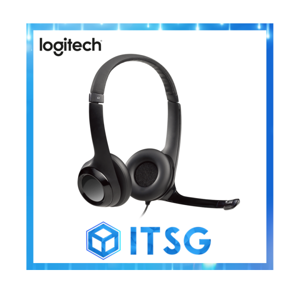 Logitech H390 USB Headset with Inline Audio Control (Local 2 Yr Warranty) Singapore