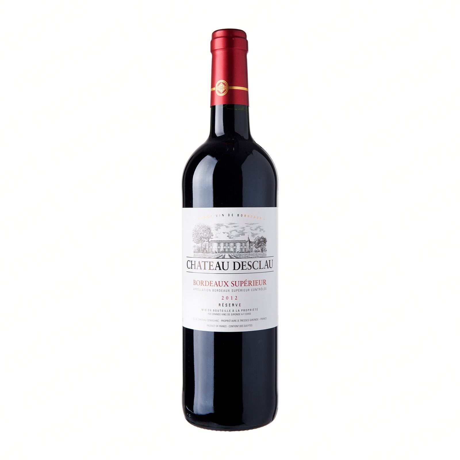 Chateau Desclau Bordeaux Superieur Rouge Reserve - By The Liquor Shop Singapore