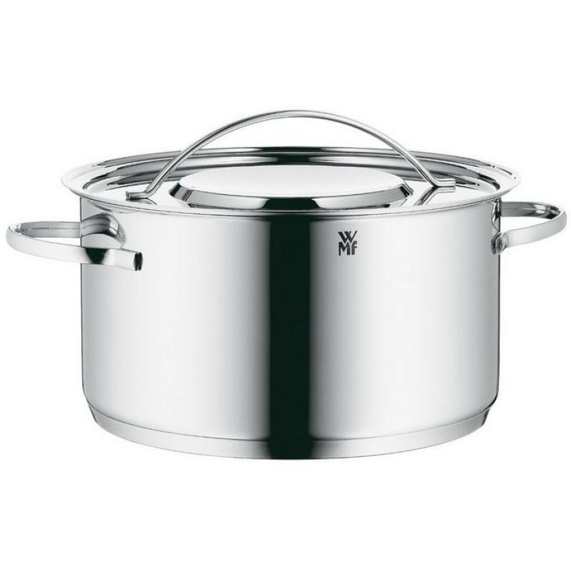 Germany WMF Gala Stainless Steel 24 Cm 5.7L Deep Stewing Pot Stew-pan Big Stew Pot Steel Lid Singapore