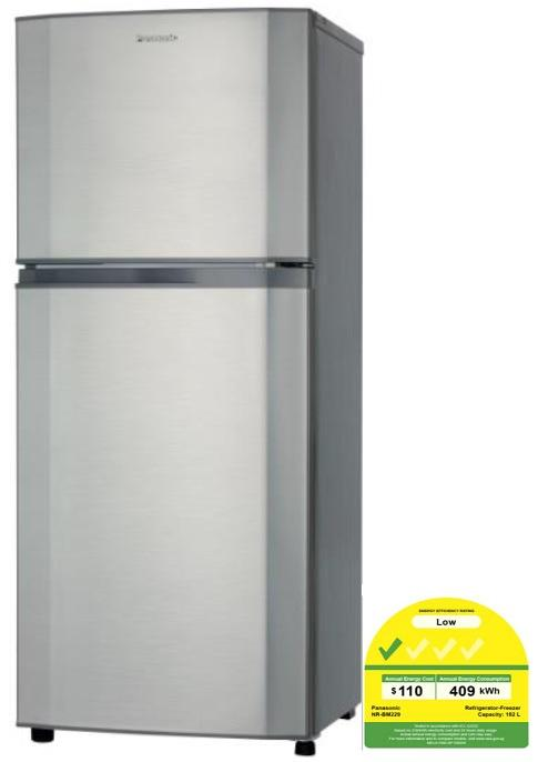 Panasonic NRBM220SSG 2-Door Fridge Refrigerator 188L * BEST SELLER IN YEAR 2018