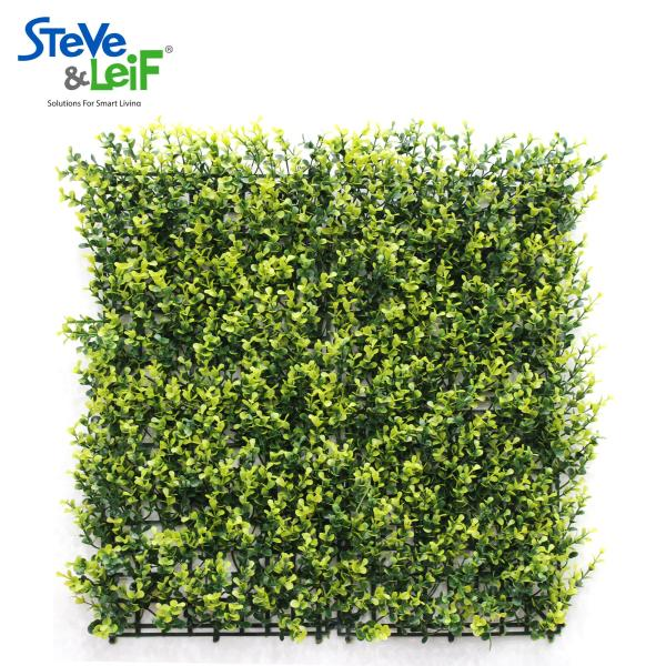 Steve & Leif Wall Hanging Detachable Decorative Grass Patch (Green/Yellow) 50cm x 50xm