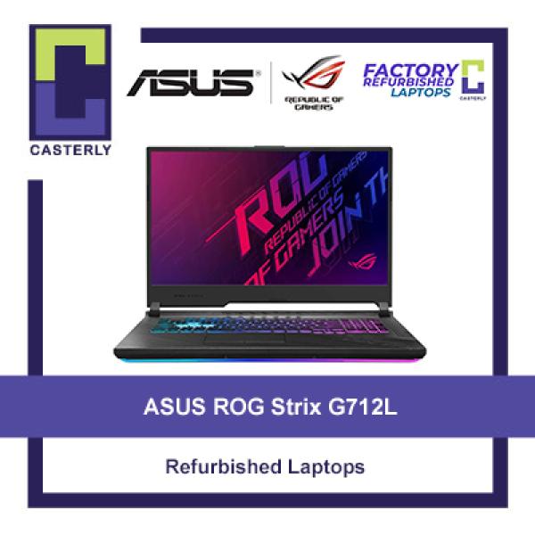 [Refurbished] ASUS ROG Strix G712L / i7-10750H / 16GB Ram / 512GB SSD / GTX 1660 Ti / Windows 10