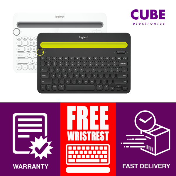 Bluetooth Keyboard, Logitech K480 Wireless Keyboard for PC/ Mobile/ Tablet Singapore