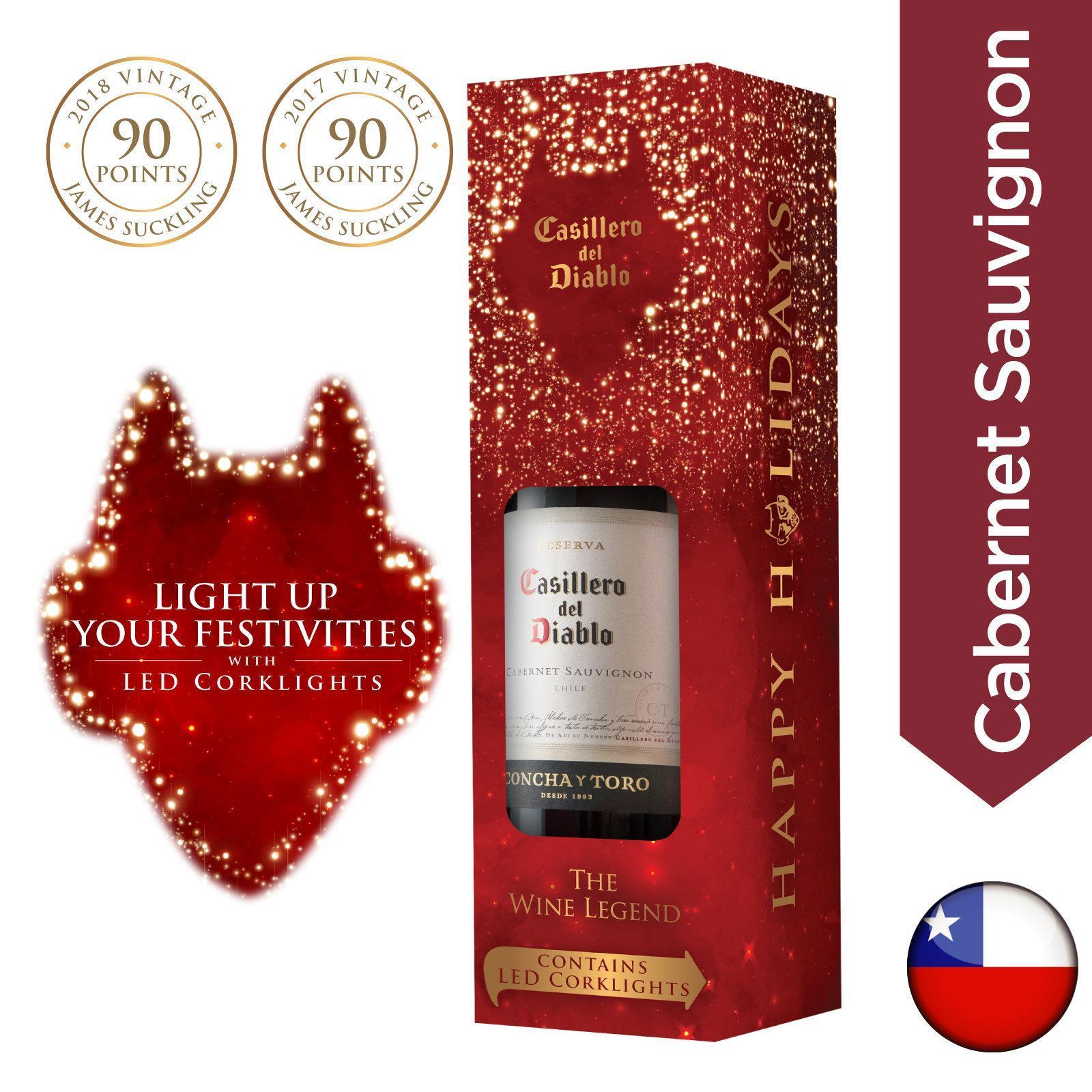 Casillero del Diablo Cabernet Sauvignon [Festive Giftpack]