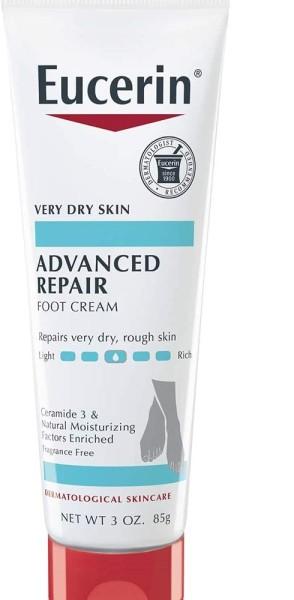Buy Eucerin, Advanced Repair, Light Feel Foot Creme, Fragrance Free, 3 oz (85 g) Singapore