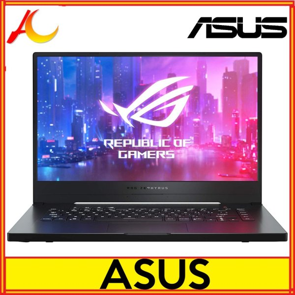 ASUS ROG Zephyrus G GA502DU-PB73 15.6 FHD 60 Hz IPS AMD Ryzen 7 3000 Series 3750H (2.30 GHz) NVIDIA GeForce GTX 1660 Ti 6 GB Memory 512 GB SSD Windows 10 Home 64-bit Gaming Laptop (GA502DU-PB73)