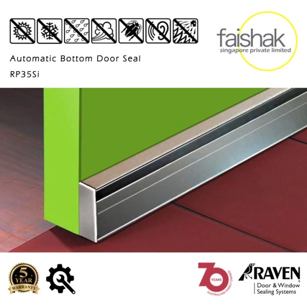 Raven, Automatic Door Bottom Seal, RP35Si, 920mm