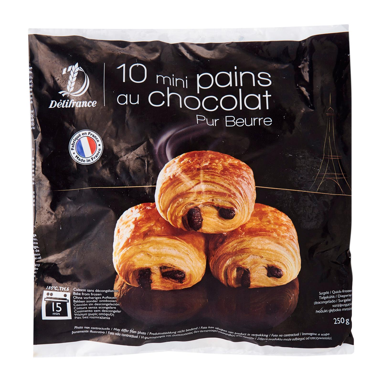 Delifrance Mini Chocolate Croissant - Frozen By Redmart.