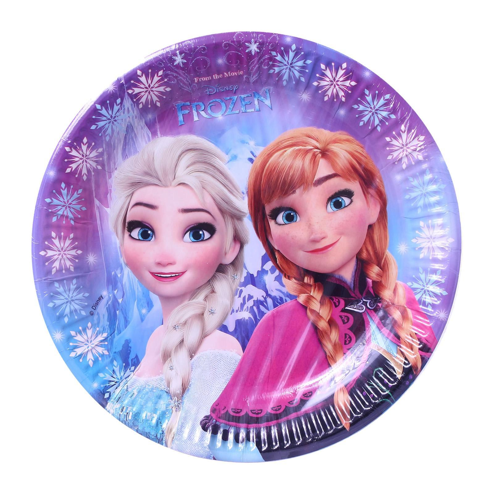 Disney Procos Frozen Northern Lights 23 CM Paper Plates 8s