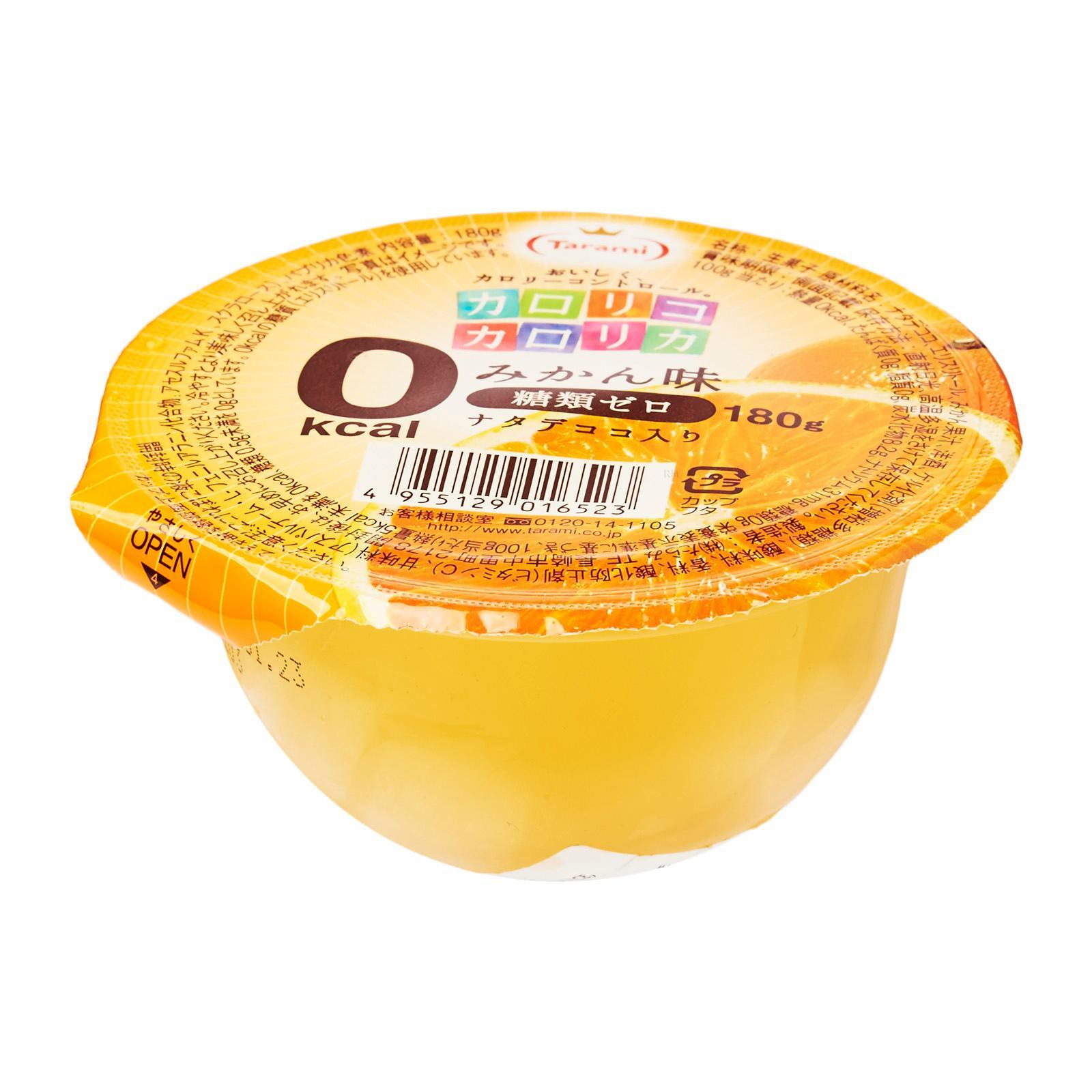 Tarami 0 Kcal Series Mikan Orange Jelly By Redmart.