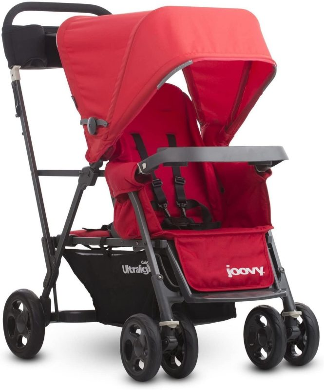 Joovy Caboose Ultralight Graphite Two 2 Child Children Kids Seater Seat Double Twin Stroller Singapore
