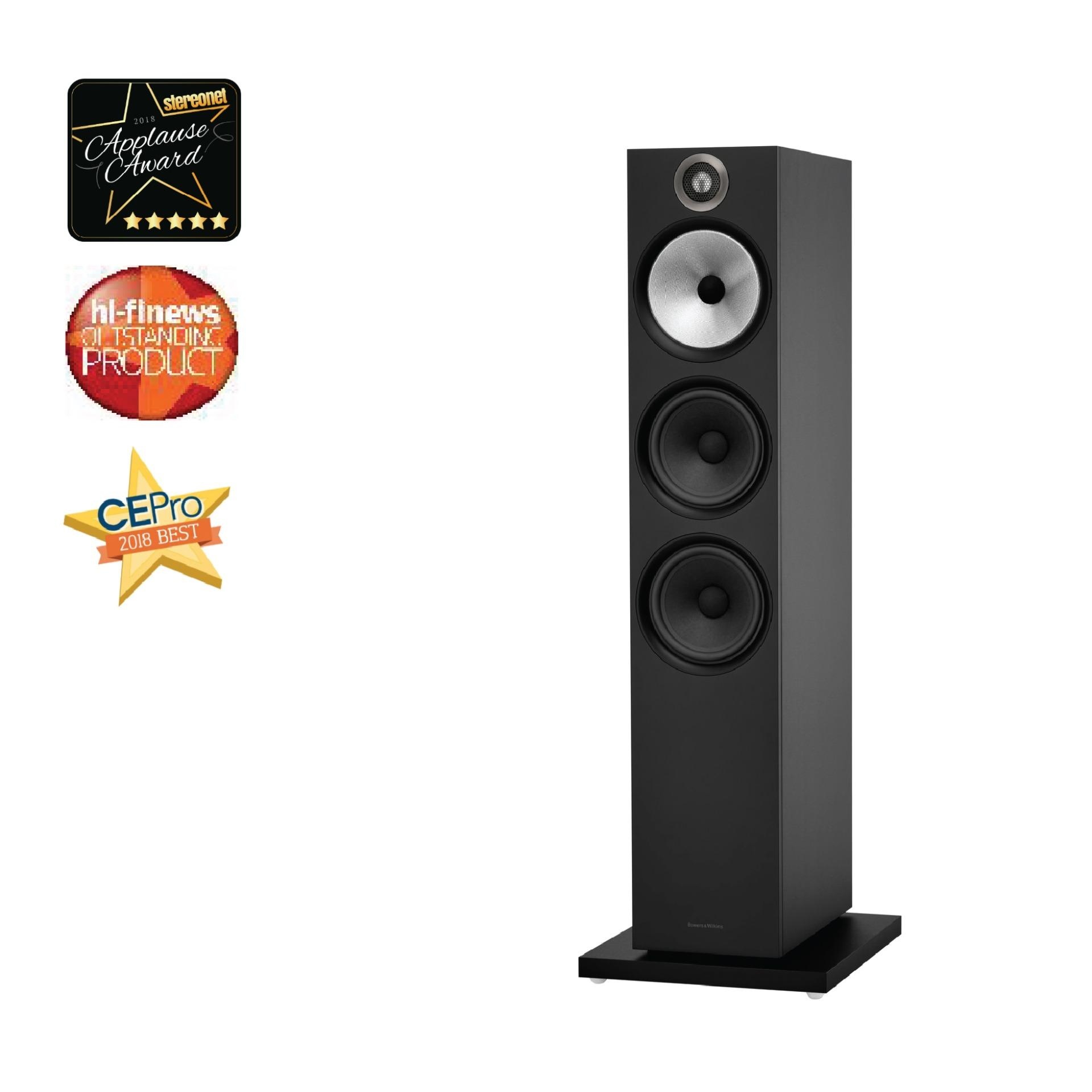 Bowers & Wilkins 603 Floorstanding Loudspeaker Black - One Pair By B&w Bowers & Wilkins Singapore