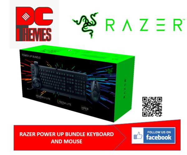 RAZER POWER UP BUNDLE KEYBOARD AND MOUSE Singapore