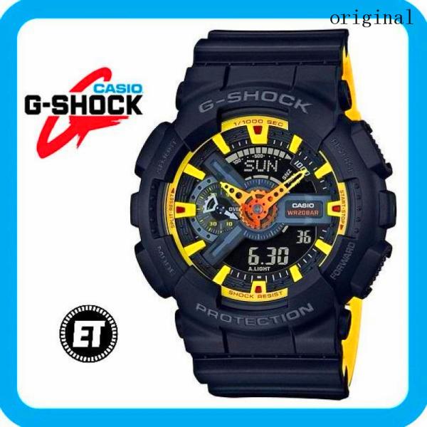 (hot) 2021 Original Casio G Shock GA-110BY-1A MENS WATCH (G SHOCK / GSHOCK / WATCH FOR MAN / JAM TANGAN LELAKI / MAN WATCH / WATCH FOR MEN / WATCH FOR MEN / WATCH) Malaysia