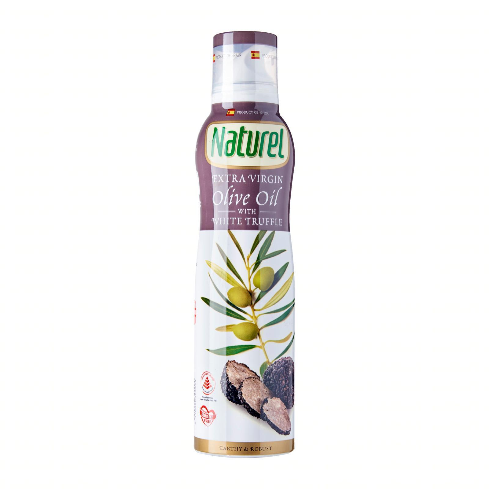 Naturel Extra Virgin Olive Spray - White Truffle Flavoured By Redmart.