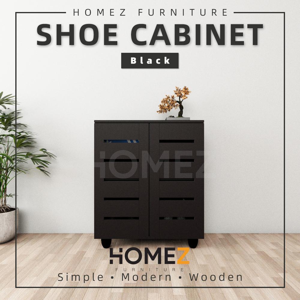 Kitchen Z Shoe Cabinet SASC-750 2 Door Solid Board Shoe Rack