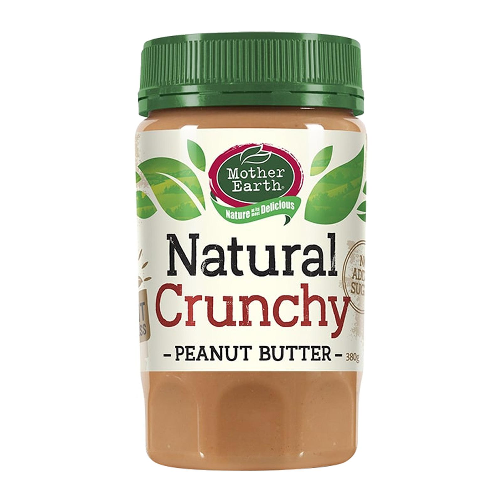 Mother Earth Peanut Butter Crunchy - by Optimo Foods