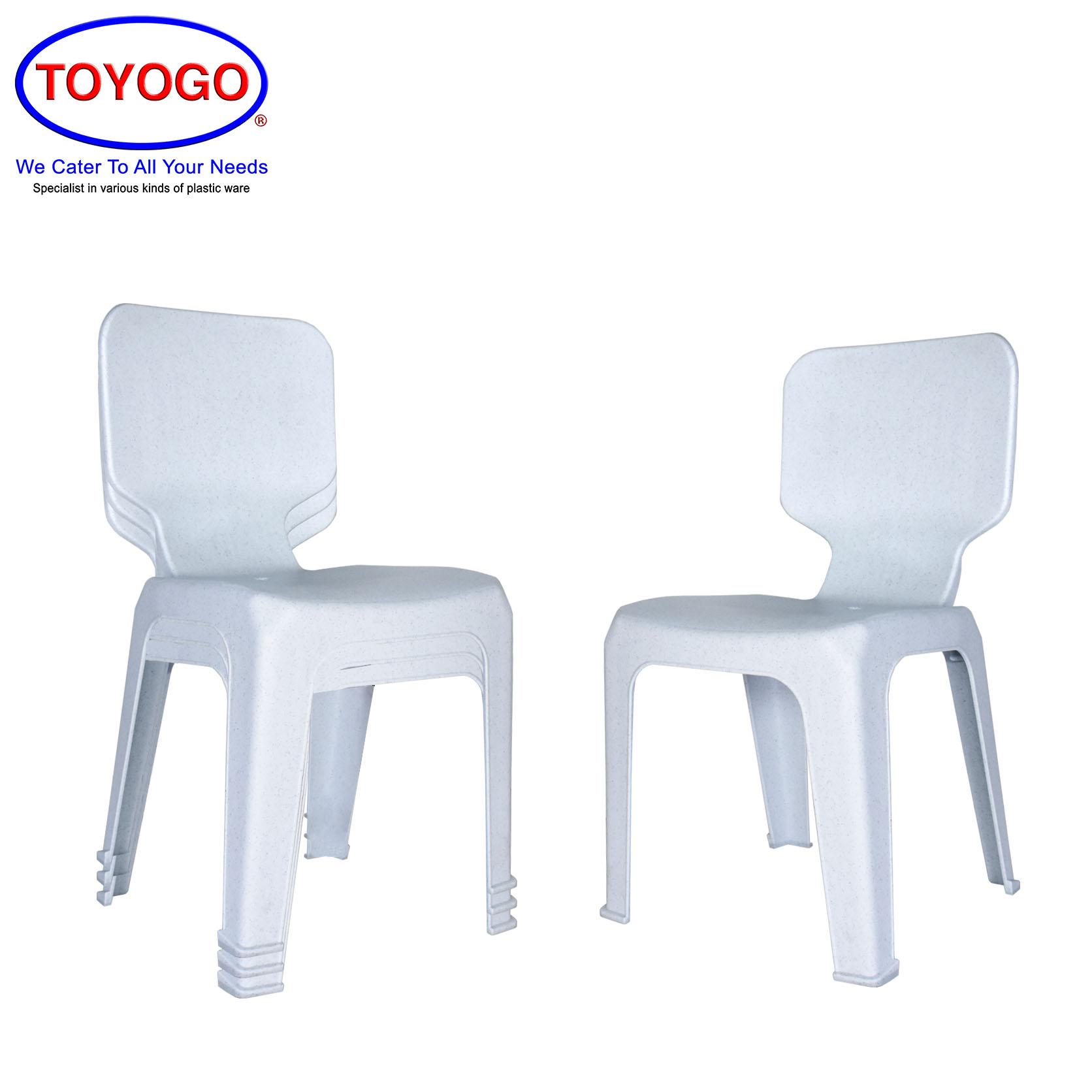 Toyogo Plastic Classic Chair (Bundle of 4) (476)