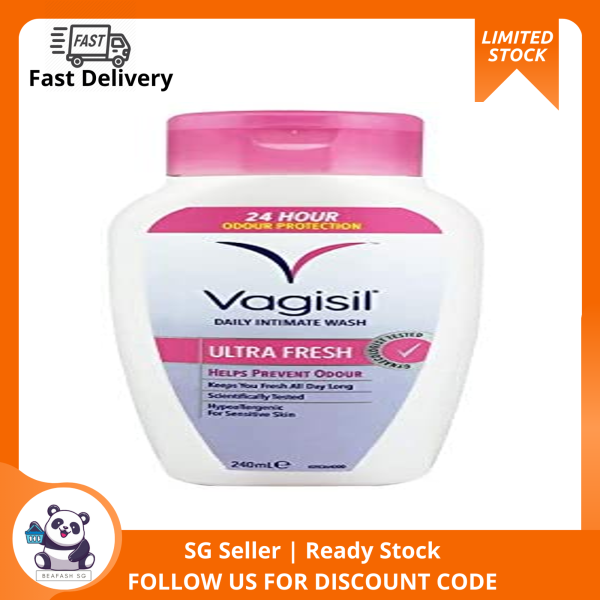 Buy (Pack of 2)(SG INSTOCK)Vagisil Ultra Fresh Feminine Wash 240ml Singapore