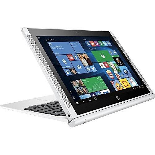 HP Pavilion x2 Detachable Laptop PC 10.1 Inch HD IPS Touchscreen Intel Quad-Core Atom x5-Z8300 32GB eMMC SSD 2GB RAM 802.11ac Wifi Bluetooth Windows 10-Silver