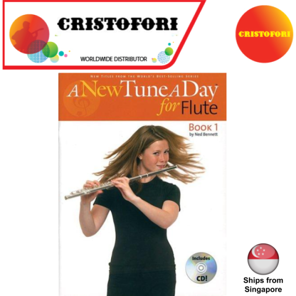 A New Tune A Day for Flute (by Ned Bennett) - Book 1 with CD