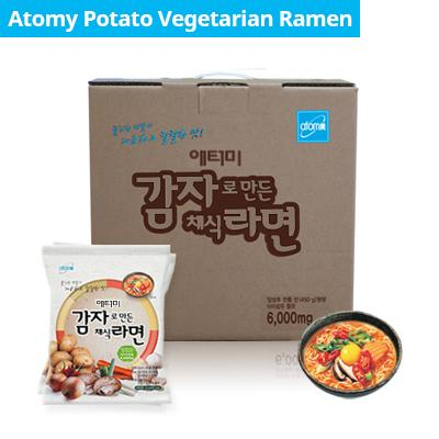 Atomy Potato Ramen *1box(24 Packets) By Livinstore.