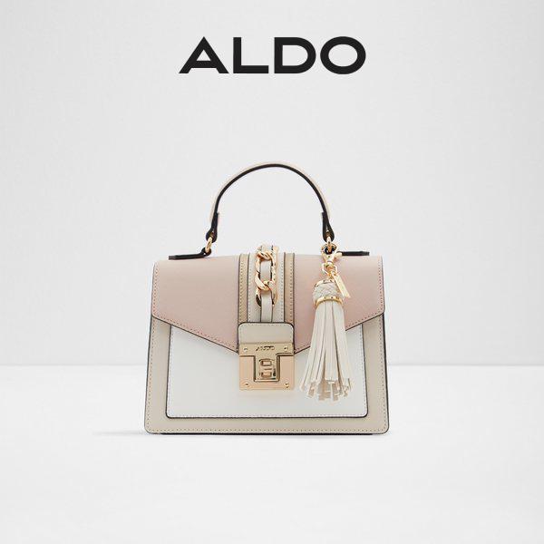 [SALE] Aldo Martis Women Trendy Top Handle Tassel Ornament Mini Bag