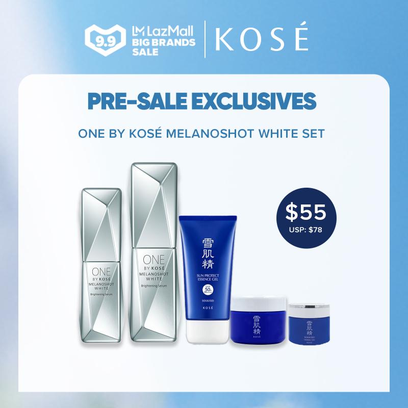 Buy (8.8 Exclusive Set) Ony By Kose Melanoshot White Set Singapore