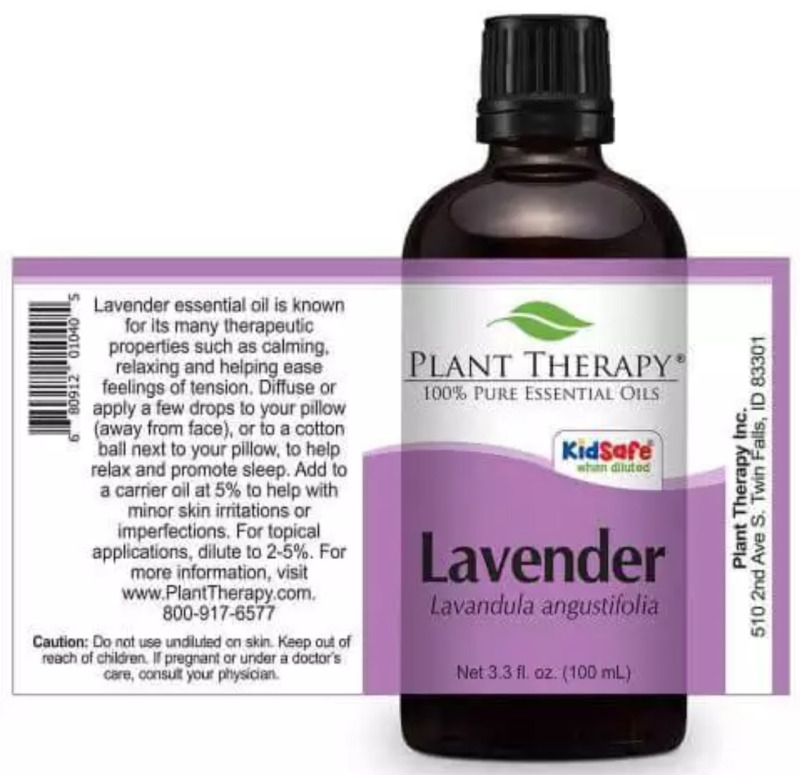 Buy [Authentic] Plant Therapy Lavender Essential Oil - 100ml Singapore