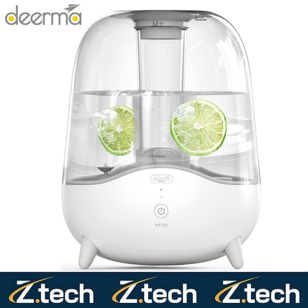 Deerma Air Humidifier Silent Aromatherapy Humidification Transparent Water Tank 5L (F329 / F325) (Authentic) Singapore