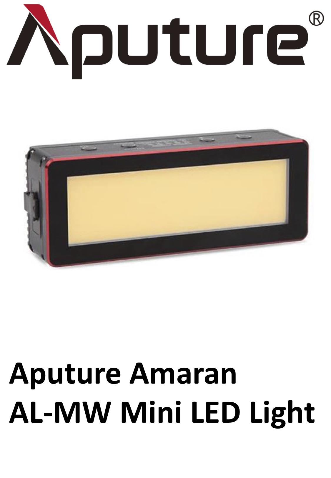 Aputure Amaran Al-Mw Mini Led Light.