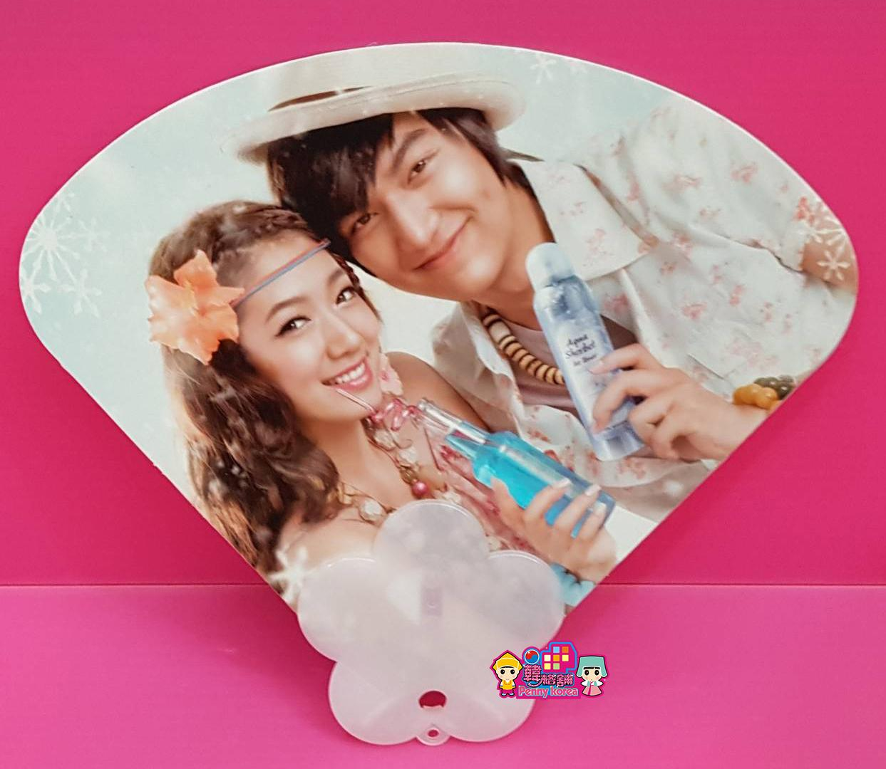李敏镐 LeeMinHo [ Official Double sided fan ] K-pop <PennyKorea>Etude House Minoz Korean drama The King:永远的君主 [ 官方双面扇子 ]