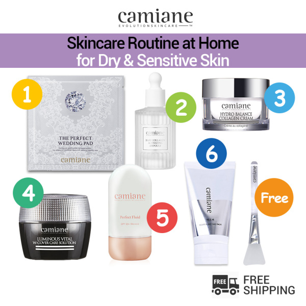 Buy [Camiane] Spa Skincare Routine for Dry & Sensitive Skin Singapore
