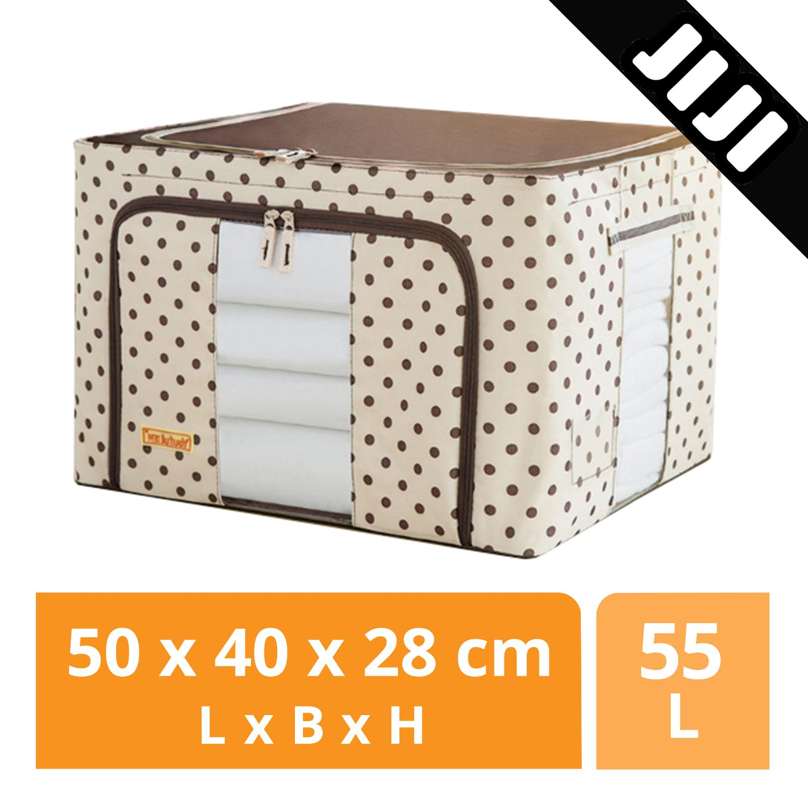 JIJI Oxford Cloth Folding Storage Organizer - Closet Organizers / Drawer Shelf / Space Savers (SG)