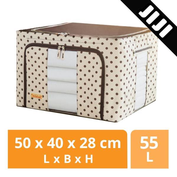 JIJI Oxford Cloth Folding Storage Organizer - Closet Organizers / Drawer Shelf / Space Savers (SG)