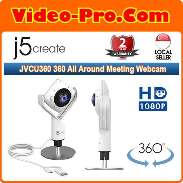 j5 Create JVCU360 360 All Around Meeting Webcam