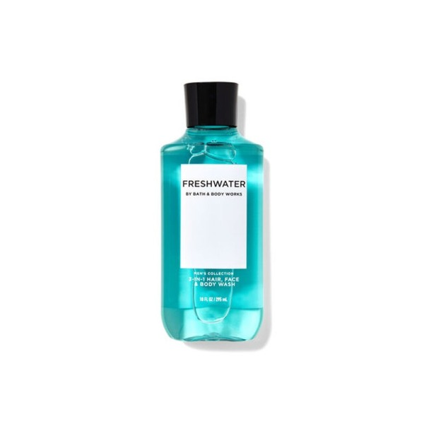 Buy Bath & Body Works : MENS COLLECTION : Freshwater 3-in-1 Hair + Face + Body Wash - 295ml - Bath and Bodyworks - BBW Singapore